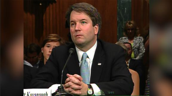Brett Kavanaugh at his 2006 confirmation hearing.