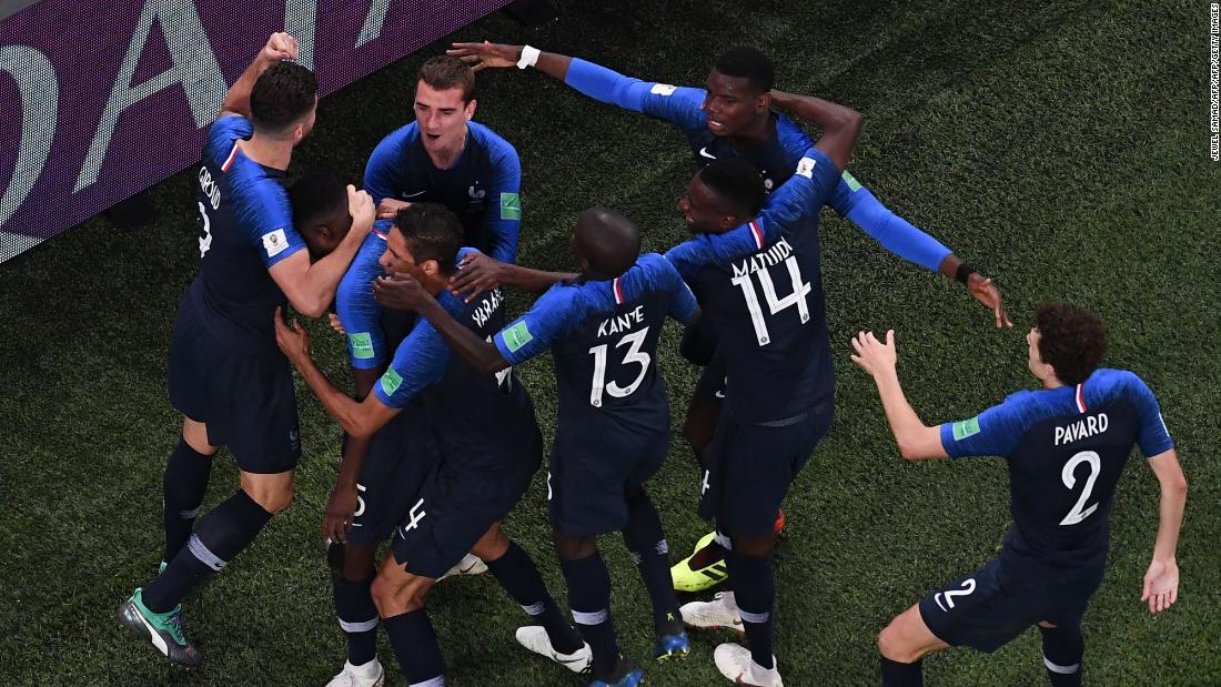France beat Belgium's 'golden generation' to reach World Cup final