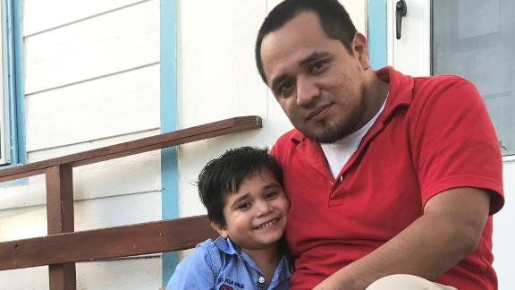 Walter Armando Jimenez Melendez (29) and his 4-year-old son Jeremy Issac Jimenez Location: San Benito, TX