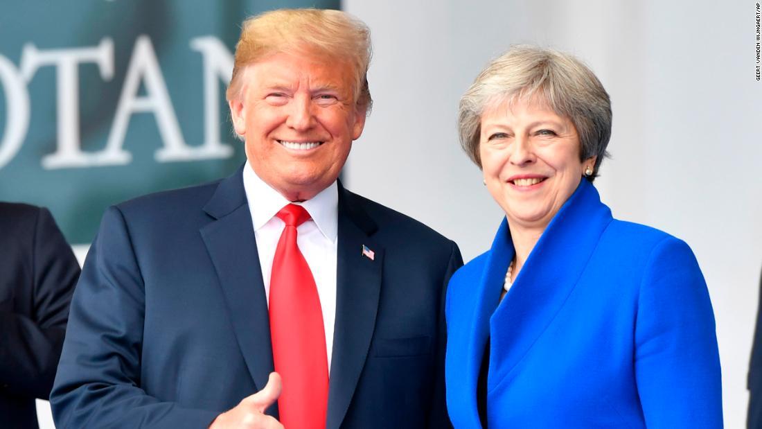 Trump returns to NATO before heading to London