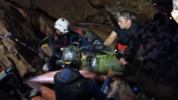 Thai boys rescue video
