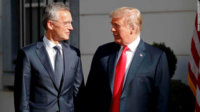 Trump suggested NATO countries double their defense spending goal