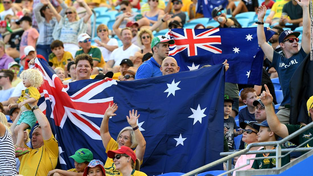 Australia is the defending women's champion.