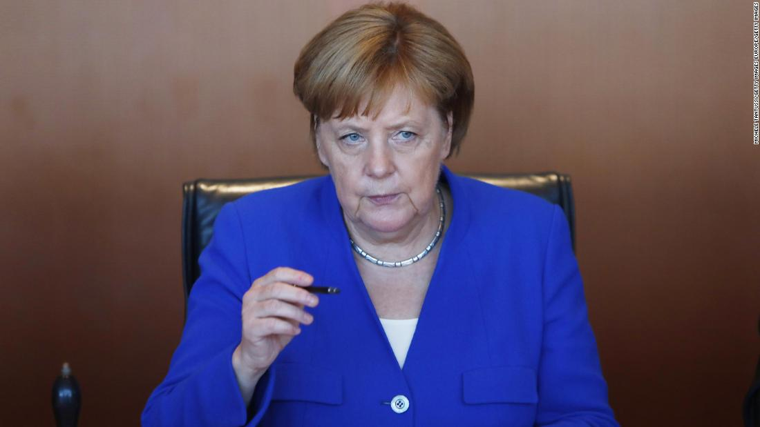 Merkel: 'I have witnessed' Germany under Soviet control