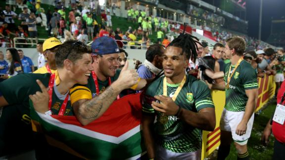 The next stop is Cape Town. South Africa is the defending champion after pipping Fiji for the title in the 10-round series.