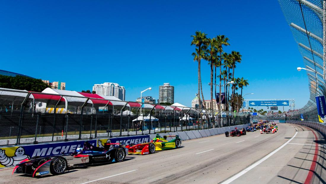 Formula E has made big strides stateside, having previously held races in Long Beach (pictured) and Miami.
