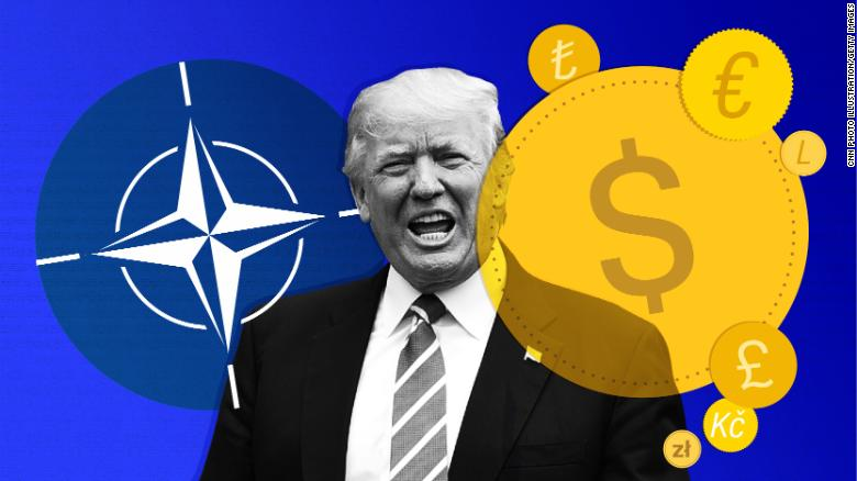 Trump isn't the first to ask NATO to pay more
