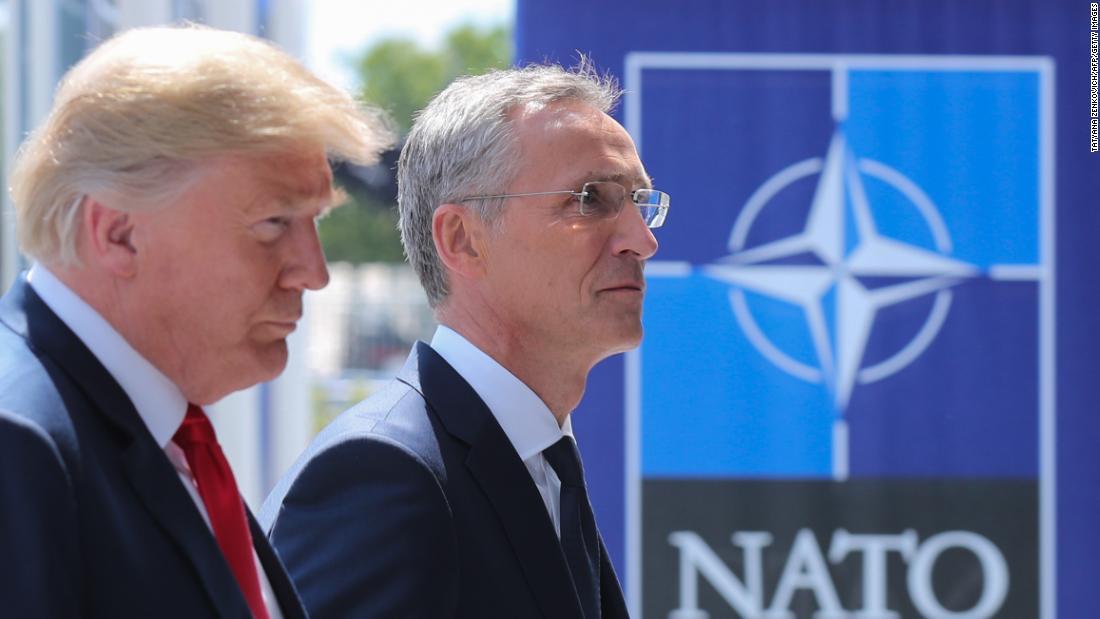 Trump's attacks leave NATO allies in disbelief