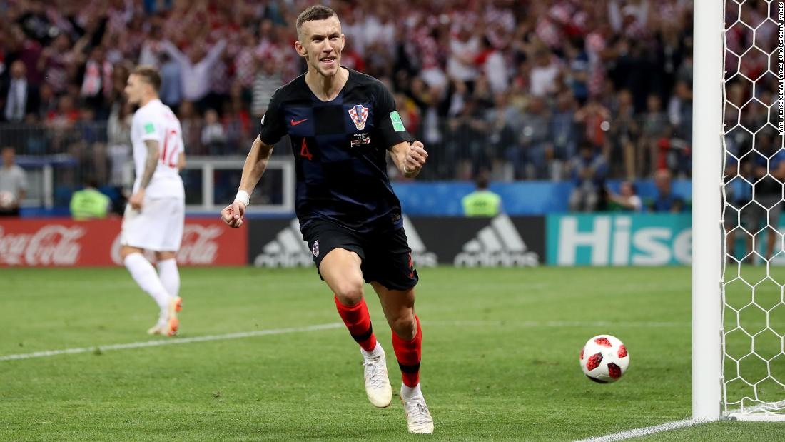 Croatia beats England in extra-time to reach first World Cup final