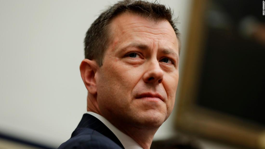 Strzok explains why he sent anti-Trump text