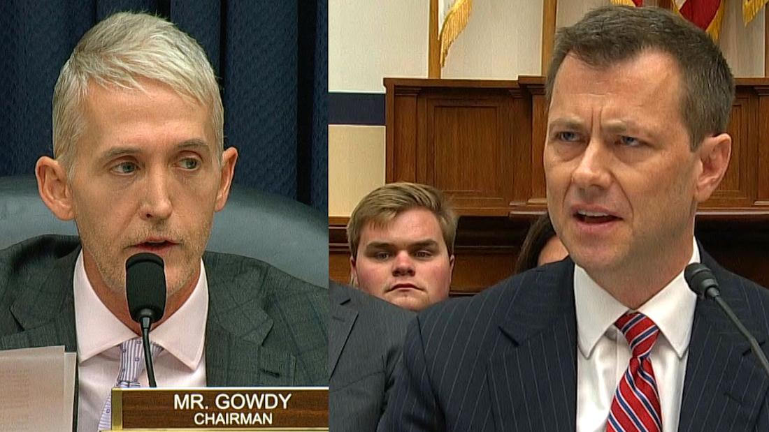 Image result for Insults, fighting, shouting: Strzok hearing boils over