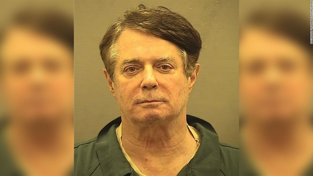 Manafort transferred to Alexandria jail