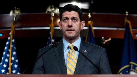 WASHINGTON, DC - JUNE 21: U.S. Speaker of the House Rep. Paul Ryan (R-WI) delivers remarks during his weekly press conference on June 21, 2018 in Washington, DC. (Photo by Toya Sarno Jordan/Getty Images)