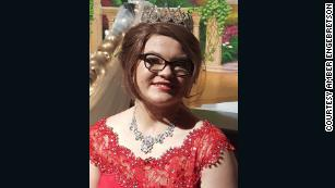 The students of Martin County West High School crowned Alyssa Gilderhus prom queen.
