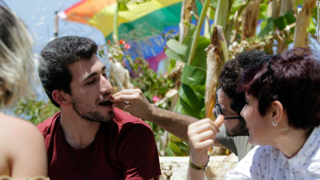 """People are attacked when they are visible, when they are organized. People attack out of fear and misunderstanding,"" says Damien. Beirut Pride is working to address misrepresentation of homosexuality."