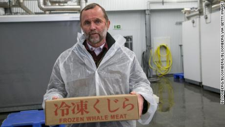 Kristjan Loftsson, Icelandic fishing magnate, has argued most people in the country support whaling.