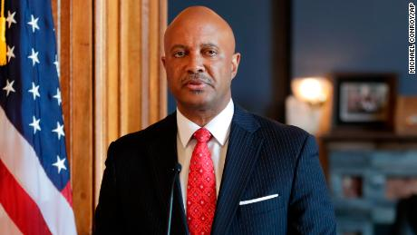 "Indiana Attorney General Curtis Hill said earlier this week he stands ""falsely and publicly accused of abhorrent behavior."""