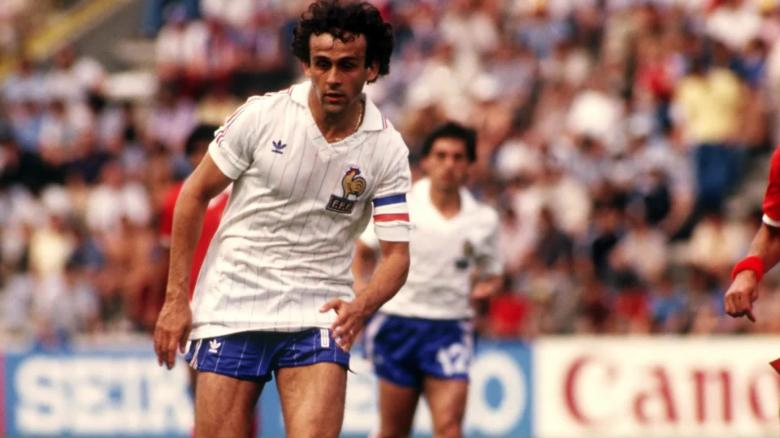 Platini won the 1984 Euros with France.