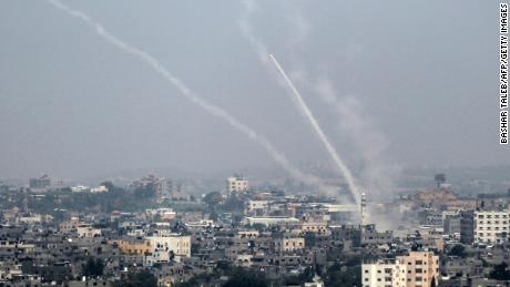 Israels netanyahu says no ceasefire with gaza if arson attacks palestinian rockets are fired saturday from gaza city toward israel stopboris Image collections
