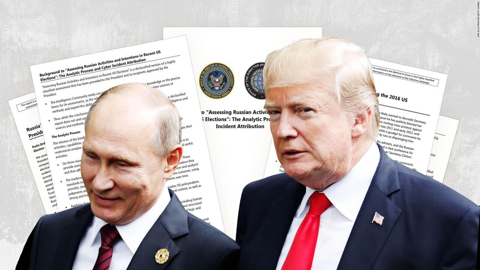 Trump versus US intelligence on Russian election interference - CNNPolitics
