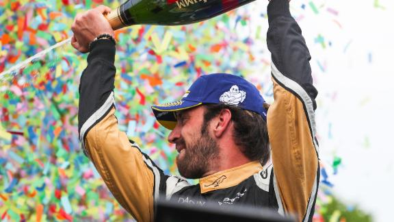 Vergne -- who won four of the 12 races of the season -- finished with 198 points, 54 points ahead of Di Grassi.