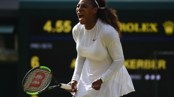 Williams hit 23 winners but made 24 errors in the final