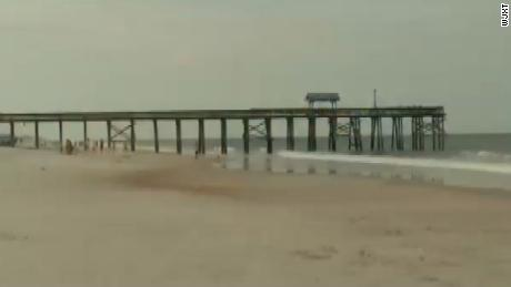 Beach reopened after 2 apparent shark attacks