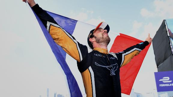 Vergne triumphed for France just one day before his country beat Croatia to win football