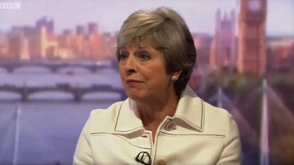 Theresa May INTV