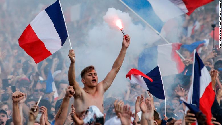 France Celebrates World Cup Win