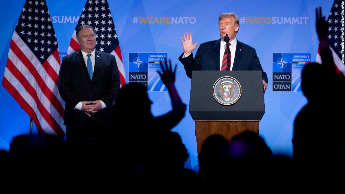 Trump seems to question US commitment to defending all NATO allies