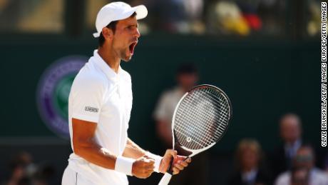 Novak Djokovic Breezes Past Kevin Anderson To Win Fourth Wimbledon Title Cnn