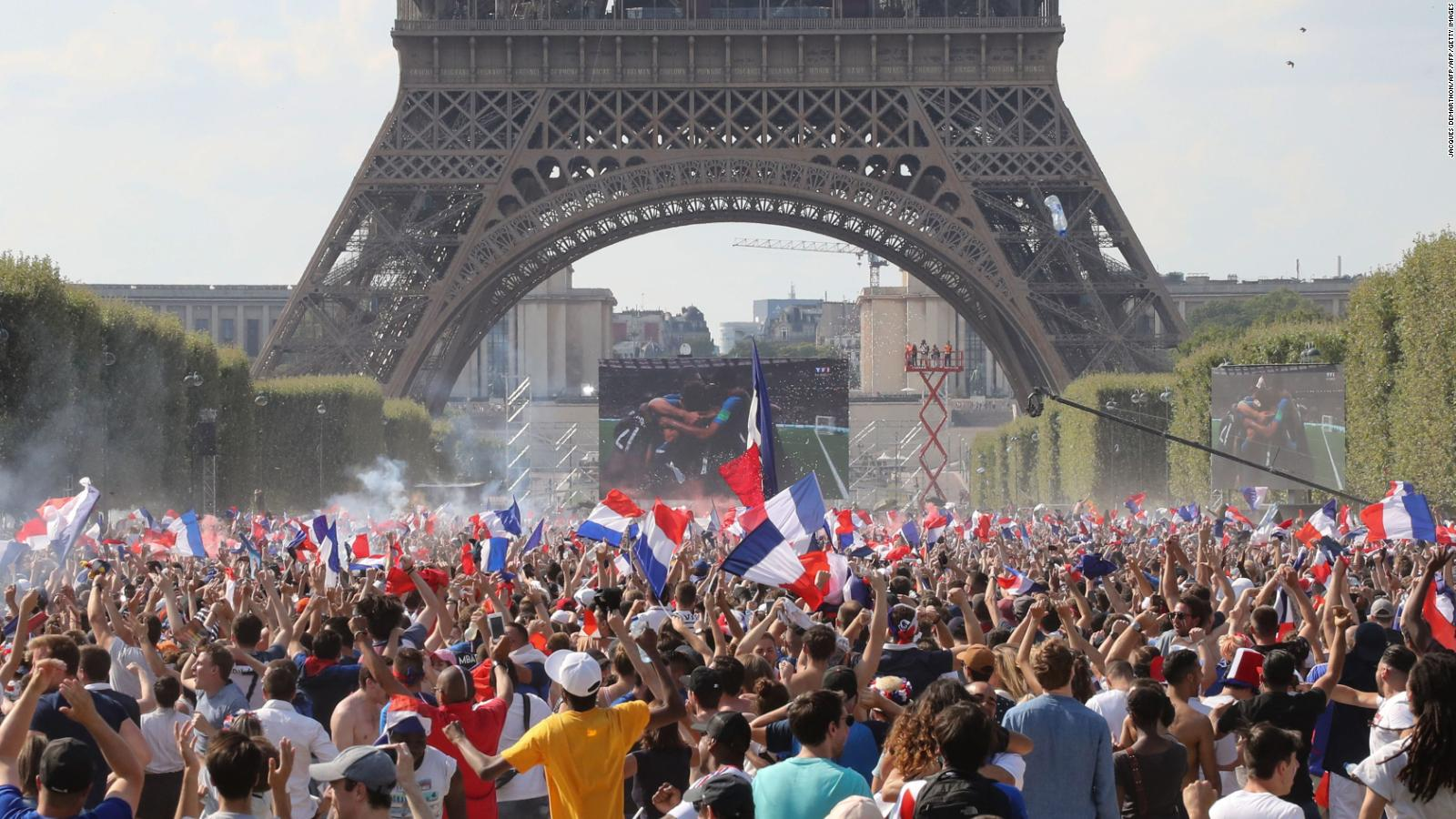 France World Cup Celebrations The Good The Bad And The Ugly Cnn