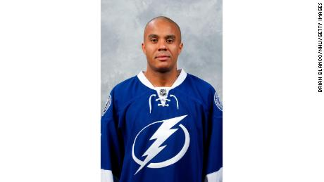 Ray Emery's official headshot with the Tampa Bay Lightning