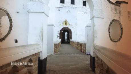 inside africa Ghana slave castle Africa history vision b_00004805
