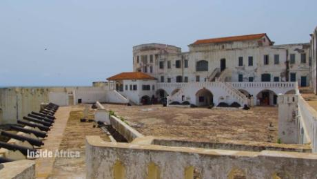 inside africa Ghana Cape Coast Castle Trans-Atlantic slave trade vision   c_00023115