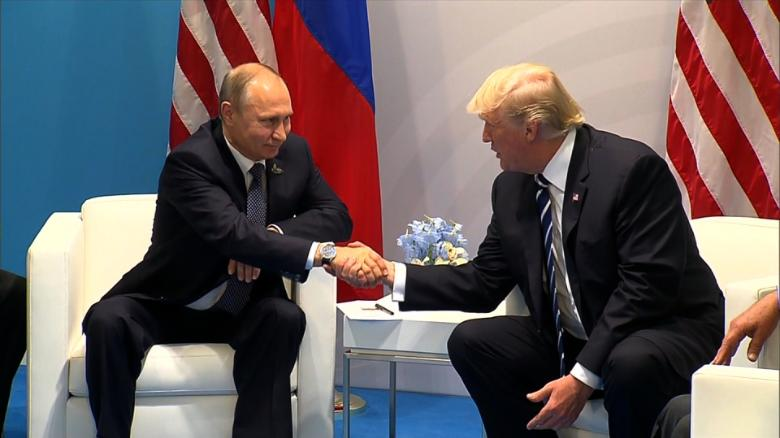 Image result for Ahead of summit, Trump blames US -- not Putin -- for sour relationship