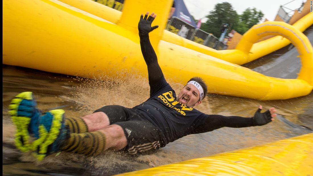 230-plus obstacles in one race sets world record for fun - CNN