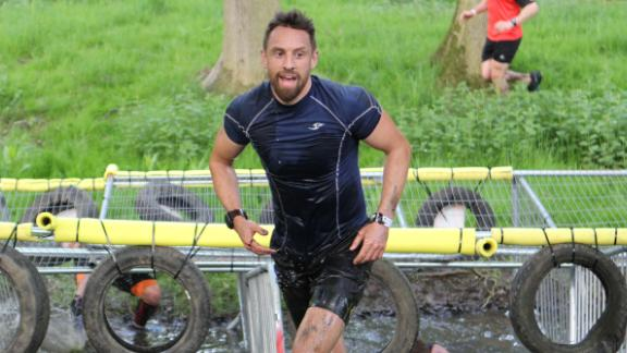 "There is not a lot of gear required for OCR. ""A pair of trainers, my mates, grit, determination, and that's all I need,"" said Mee."
