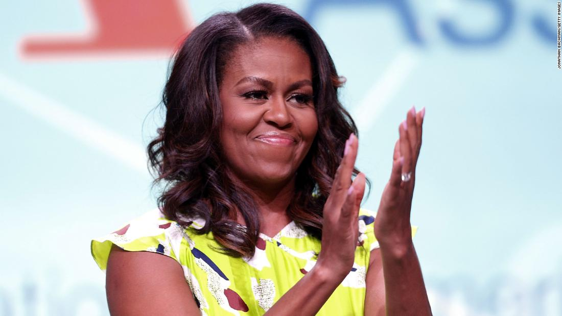 Michelle Obama encourages voter registration in star-studded PSA