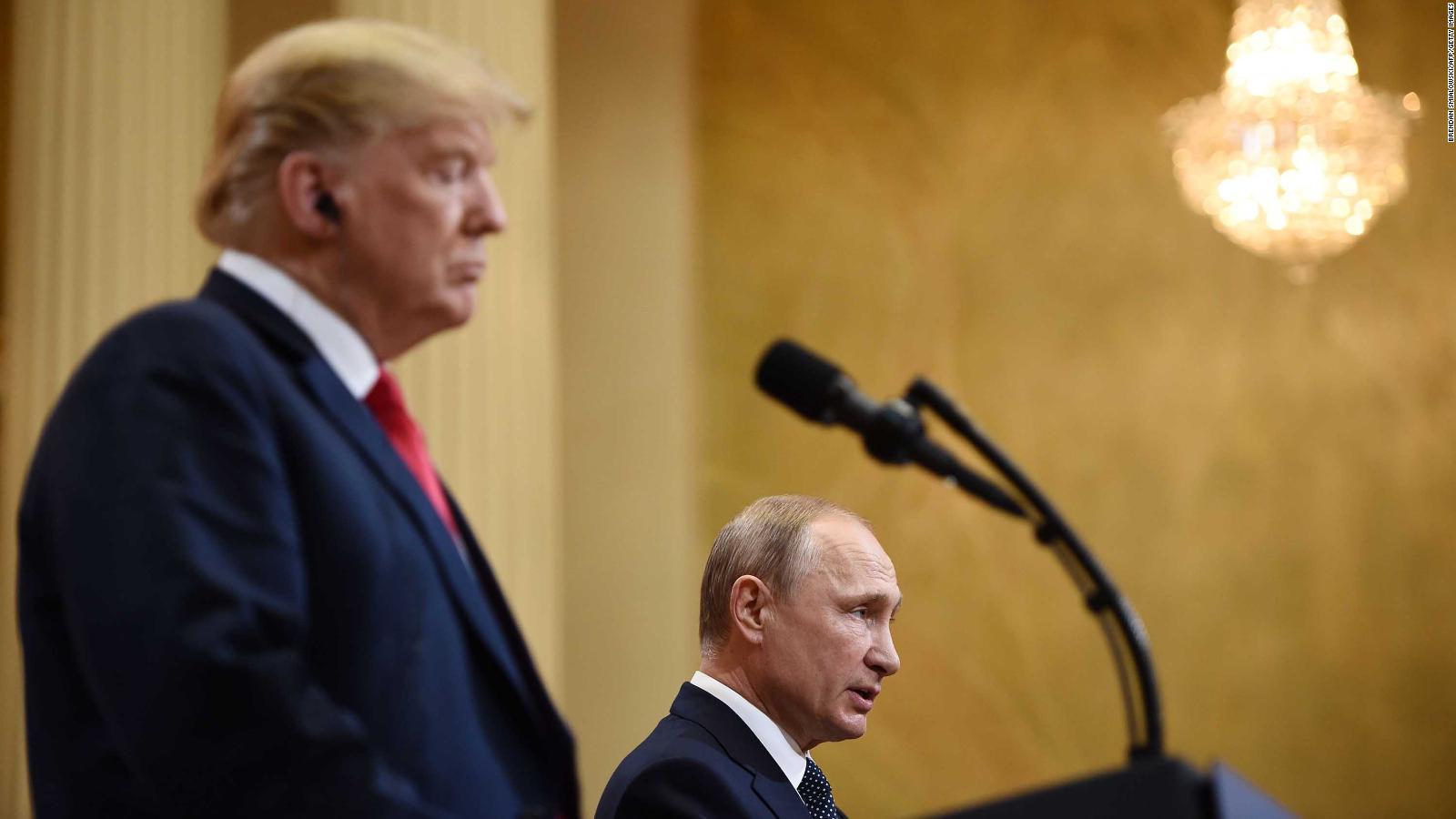 21 Disturbing Lines From Donald Trump And Vladimir Putin S News Conference Cnnpolitics
