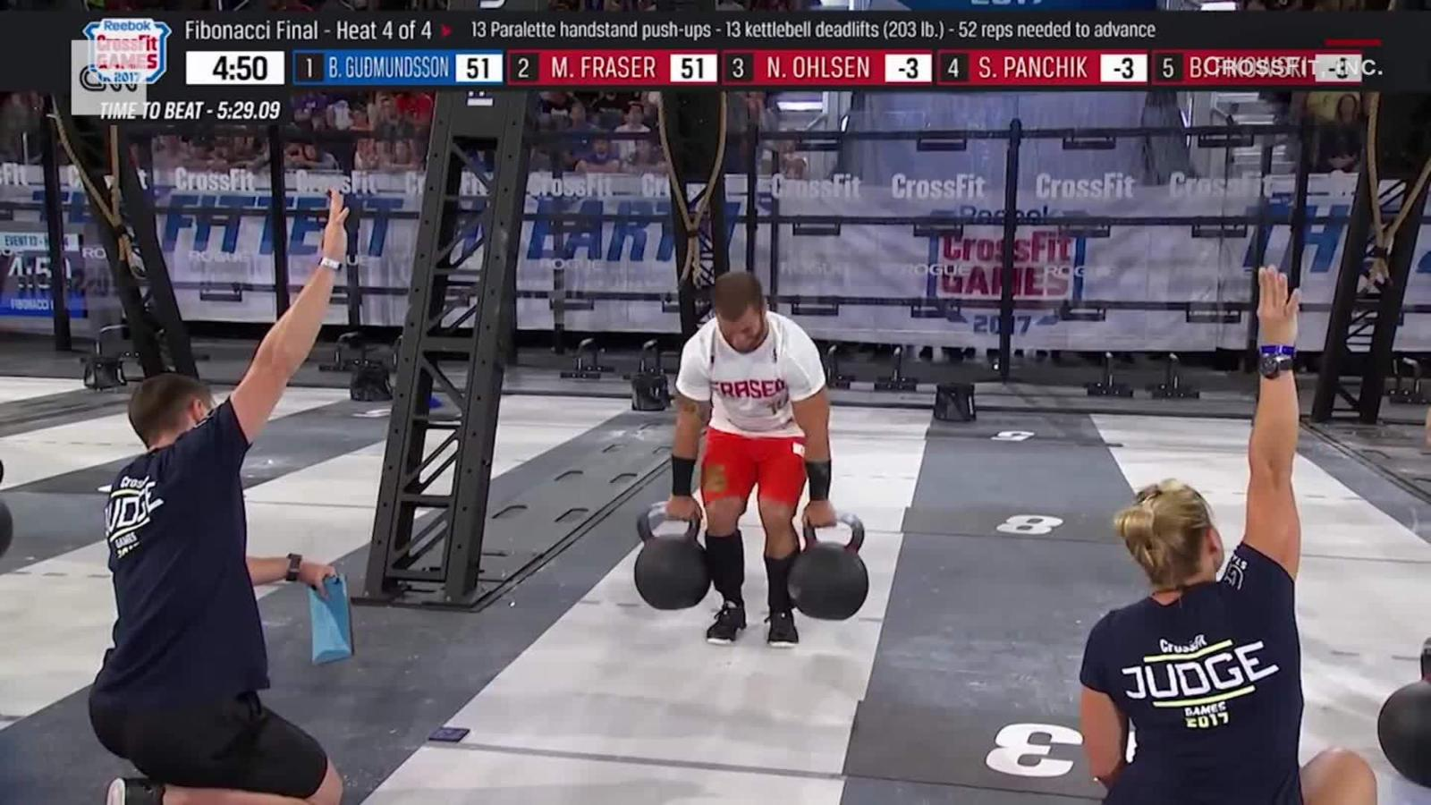 CrossFit Games How Mat Fraser Overcame Injury To Become Fittest Man On Earth