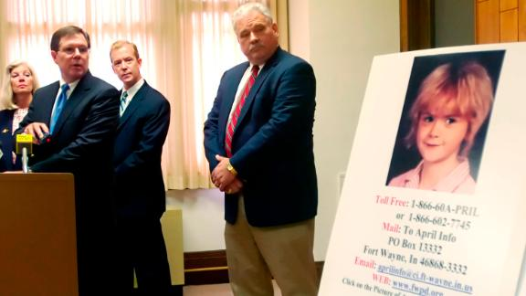 Fort Wayne Police Chief Rusty York asked the public in Sept. 2006 for any information on the 1988 murder of April Tinsley.
