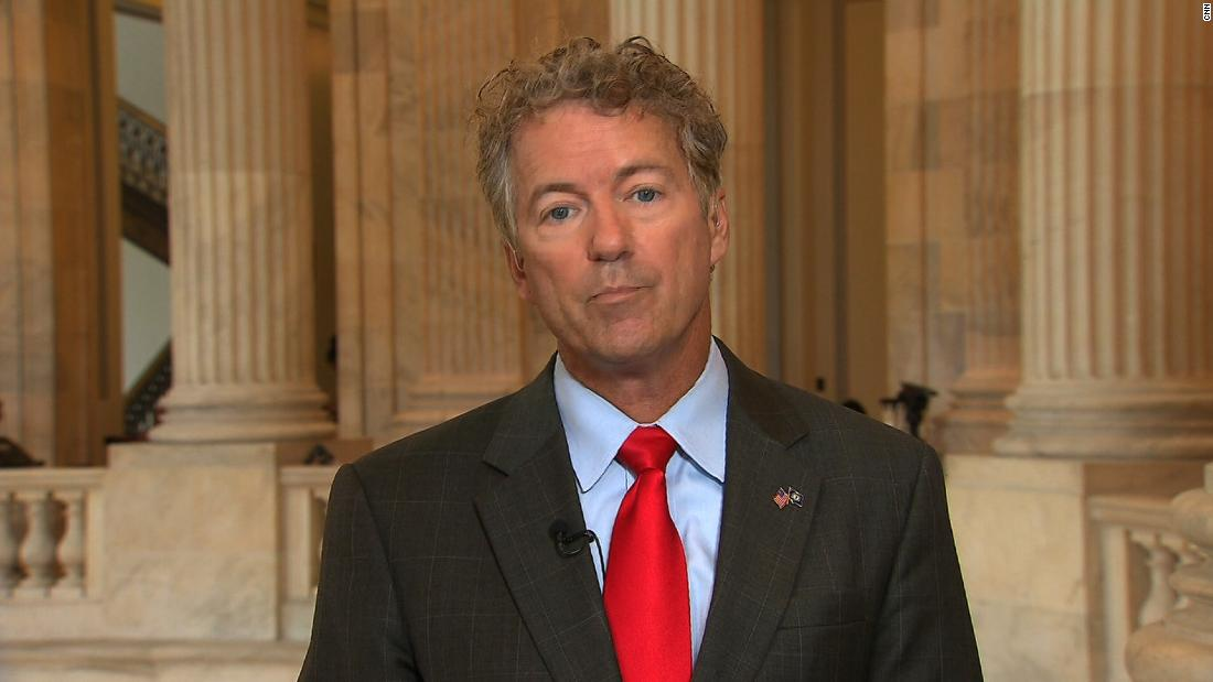Rand Paul sides with Trump and Putin over US intel - CNN Video