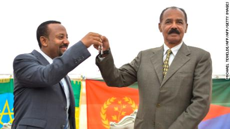 Eritrea leader brings 'peace, love and good wishes' on historic Ethiopia visit