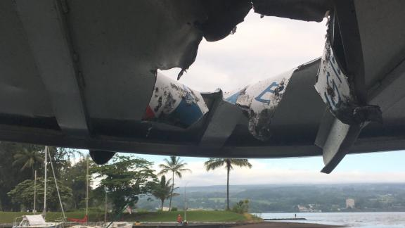At least 13 people on a Lava Ocean Tours vessel were injured this morning after an explosion sent lava through the roof of the boat's passenger cabin. Officers from the DLNR Division of Conservation and Resources Enforcement (DOCARE) along with the Hawai'i County Police Dept. are investigating the incident.