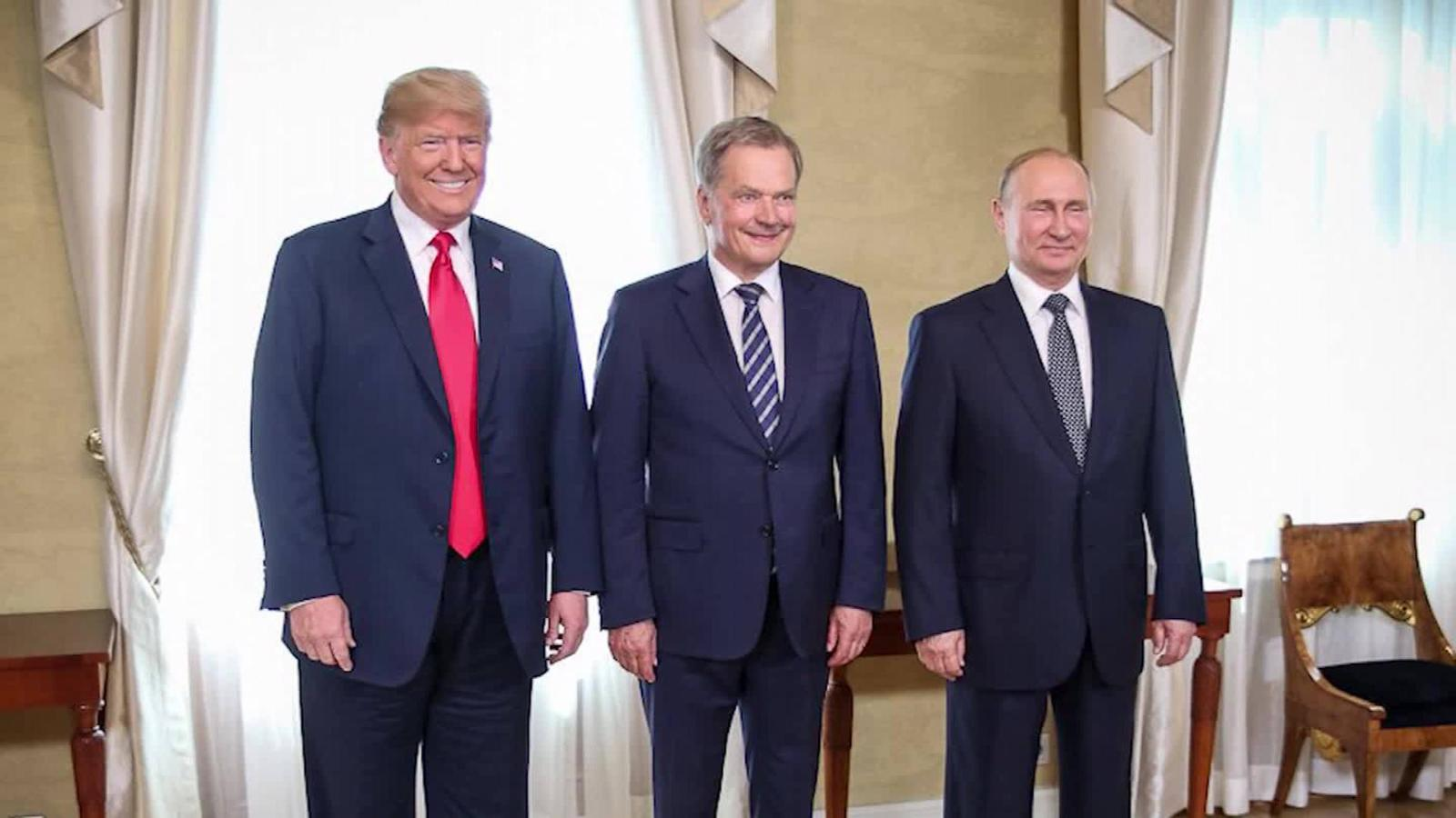Image result for photos of trump russia summit finland