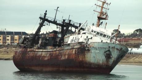 Asi Se Formo Este Cementerio De Barcos Abandonados En Puerto Madryn