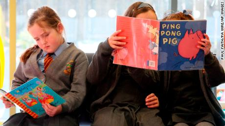 Of the 9,115 children's books published in the UK last year, just  4% featured characters from a black, Asian or other minority ethnic background, according to report published Tuesday.