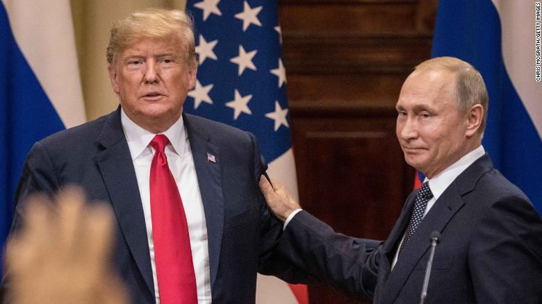 Image result for Trump tries to douse Putin storm -- but his cleanup tests credulity